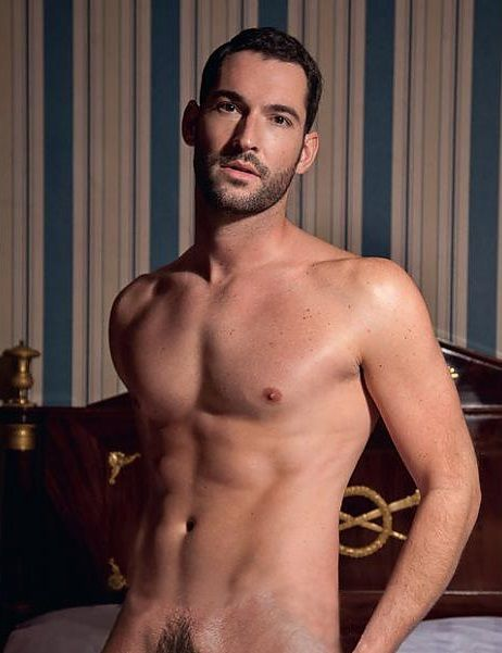 Tom Ellis. And I thought he looked amazing in his perfectly tailored suits!