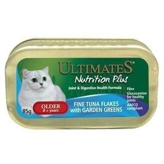 Ultimates Nutrition Plus Older(+8) Ton Balıklı Bahçe Yeşillikli Yaşlı Kedi Konserve Maması