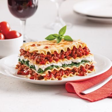 Lasagne aux épinards et ricotta - Recettes - Cuisine et nutrition - Pratico Pratique