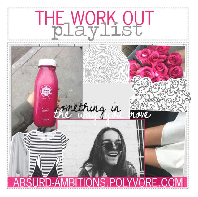 """847. the work out playlist"" by fresh-tips ❤ liked on Polyvore featuring moda, Piet Hein Eek, Monki, women's clothing, women, female, woman, misses e juniors"