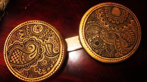 Bongo Drums OOAK henna designs permanent   Henna designs Henna and ...