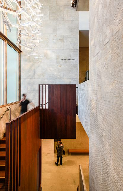 The Barnes Foundation - Tod Williams Billie Tsien Architects by Scott Norsworthy, via Flickr