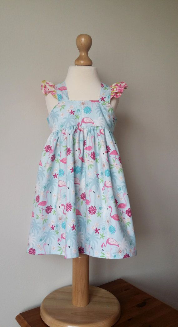 Check out this item in my Etsy shop https://www.etsy.com/uk/listing/254747740/flamingo-girls-dress-pink-flamingos
