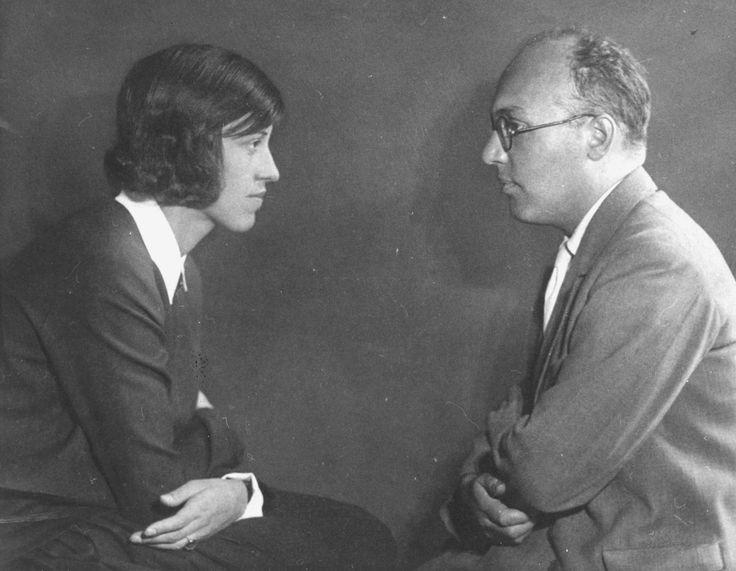 Lotte Lenya and Kurt Weill