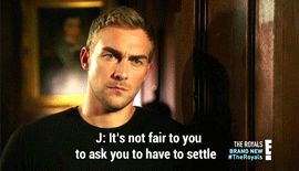 """#Jasper and #Eleanor going deeper and deeper down the rabbit hole of love in the touching """"Jasper Tudor"""" scene.    #The Royals: """"Passing Through Nature to Eternity"""" - S3E2 #Tom Austen #Jasper Frost"""