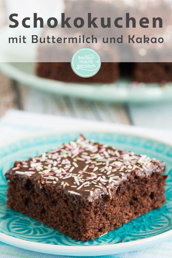 Saftiger Schokoladenkuchen – Backen mit Schokolade Rezepte