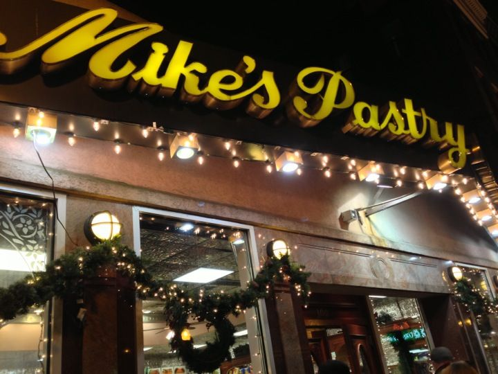 Mike's Pastry in Boston, MA Seconds away from #CCP is this famous haunt. We recommend trying one of everything.