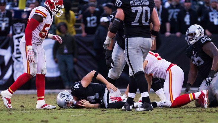 Raiders' Khalil Mack passed for sack title by...: Raiders' Khalil Mack passed for sack title by Texans' JJ Watt #Raiders… #Raiders