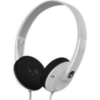 Skull Candy Uprock Athletic Headphones (White/Black) (S5URDZ074)