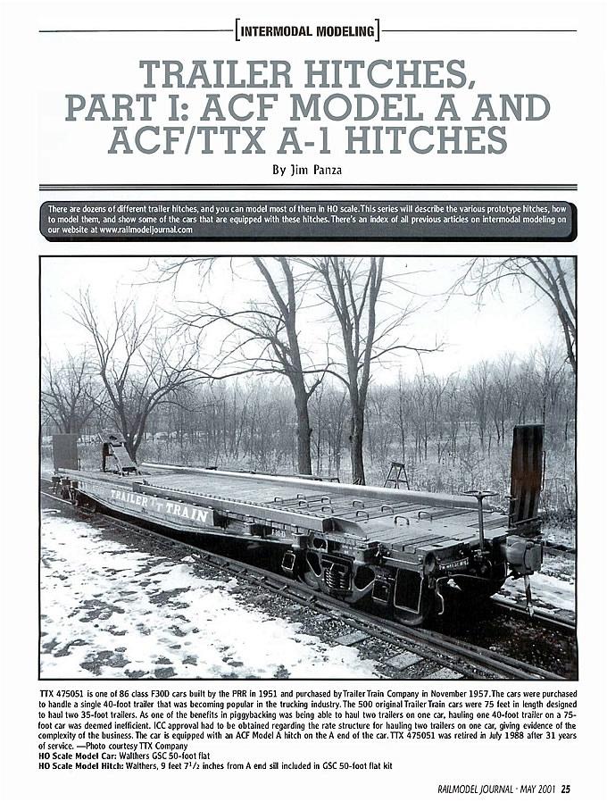 ACF Model A Hitch
