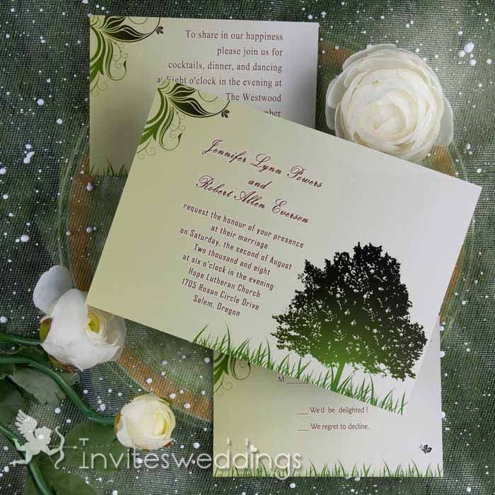 how to make film canister wedding invitations%0A Elegant Greenery Wedding Invitations IWI