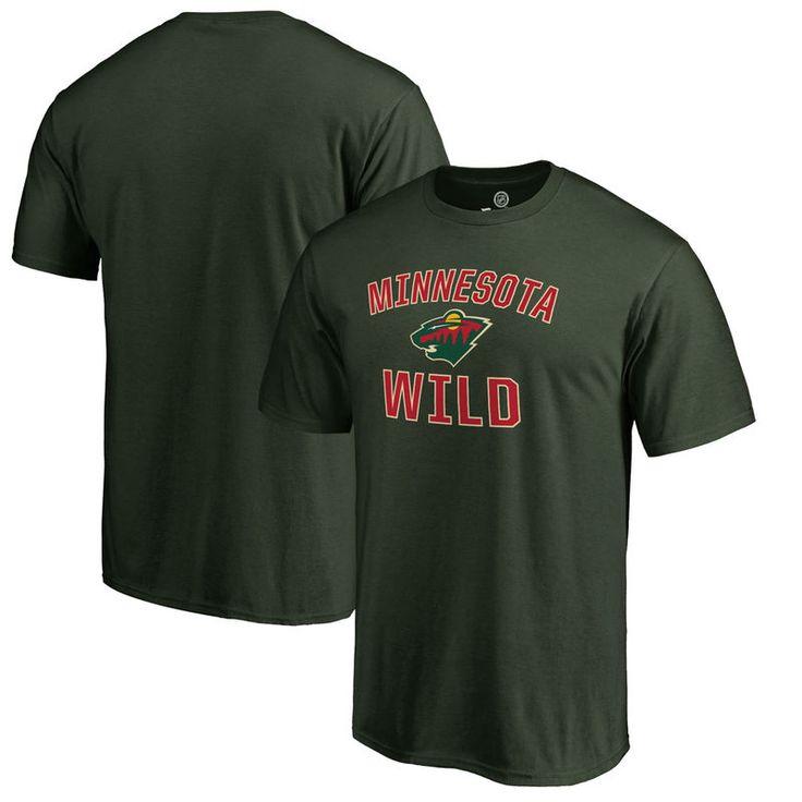 Minnesota Wild Victory Arch Big & Tall T-Shirt - Hunter Green