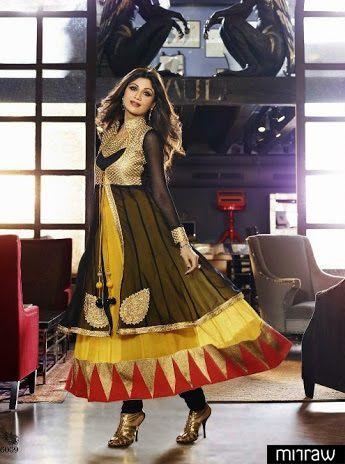 Shilpa Shetty in designer attier