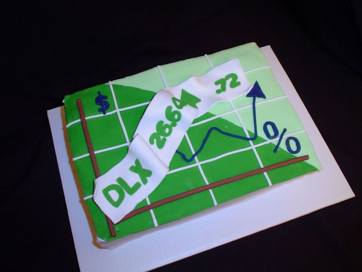 Ticker Tape Stock Market Cake This Ticker Tape Stock Market cake was commissioned just yesterday and is the third cake this week for me and...