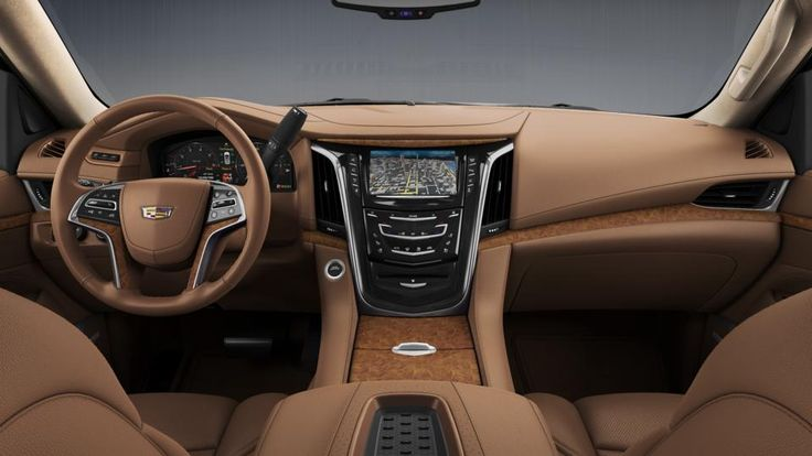 2015 Escalade  Dash View  Tuscan Brown Full Leather