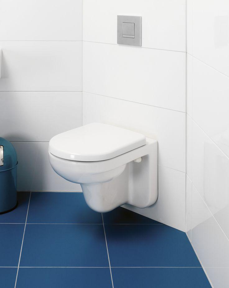 Vägghängd toalett Artic 4330. Snygg design med raka linjer.
