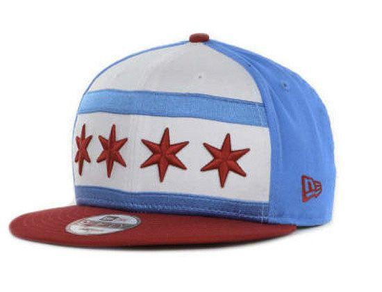 "NEW ERA ""Chicago City Flag"" 9Fifty Cap"