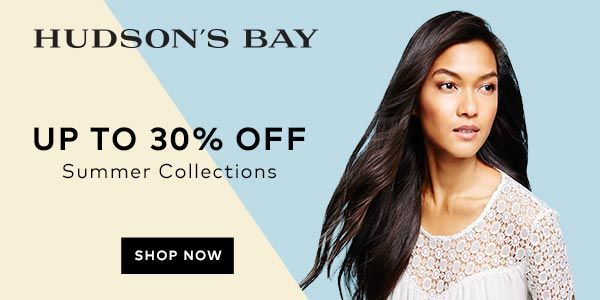 (6/10-7/10) Up to 30% off summer collections at TheBay.com