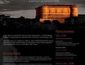 Caccia ai fantasmi al Castello di Alviano con il Giap Roma | umbrialeft.it