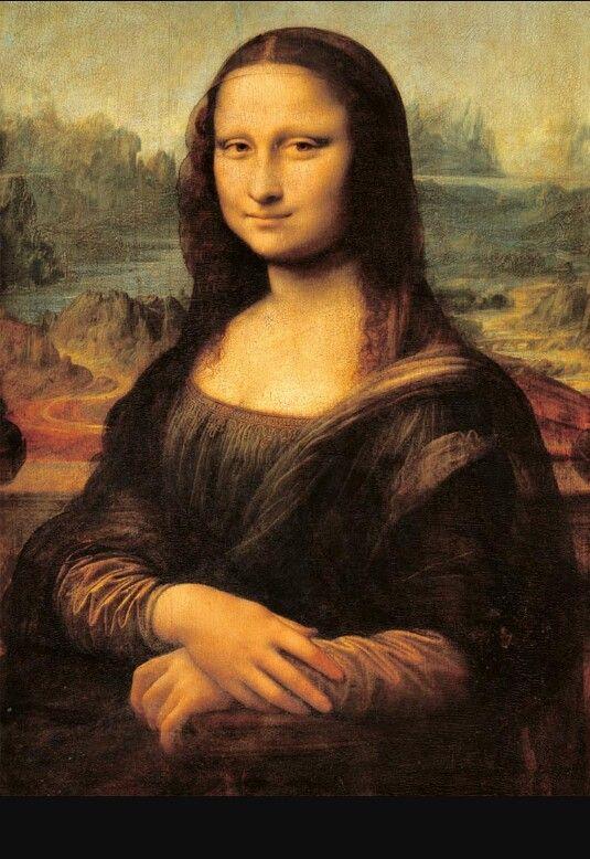 Gioconda (Mona Lisa) di Leonardo Da Vinci, 1503-1506, conservata al Museo del Louvre di Parigi.