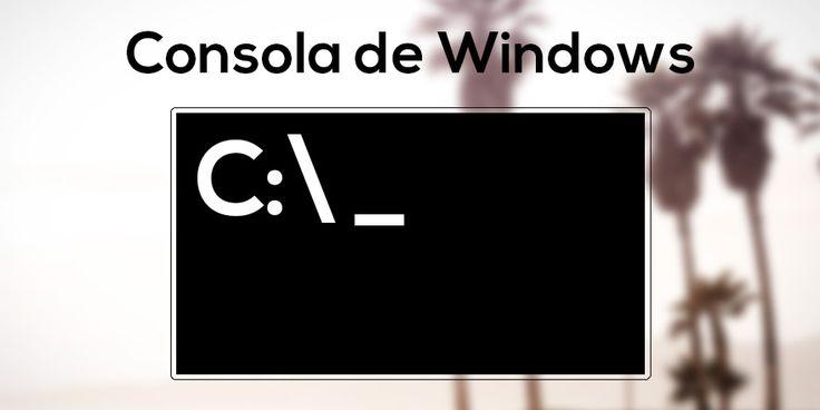DescargasPTY: Comandos básicos CMD Aprende como utilizar la consola de Windows y los diferentes comandos que puedes utilizar para navegar, crear y remover directorios.