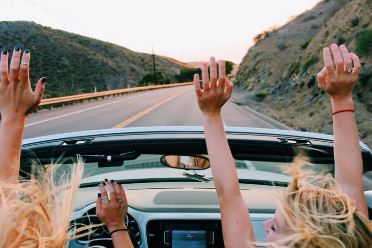 Go on a roadtrip with my girls.