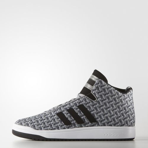 These men's shoes deliver street style stripped down to the essentials. The  mid-cut shoe features a woven textile upper with an allover pattern, ...