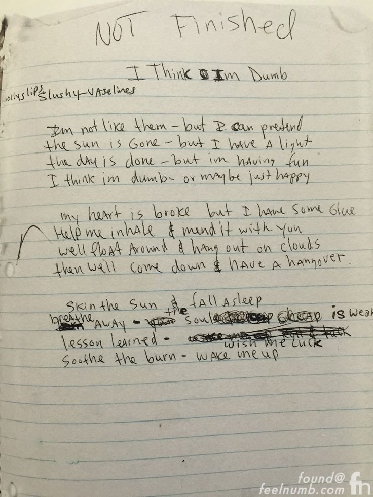Nirvana lithium lyrics