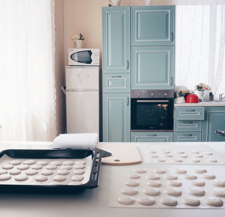 Kitchen , simply food,Shabby ,macarons , cooking backstage , interior