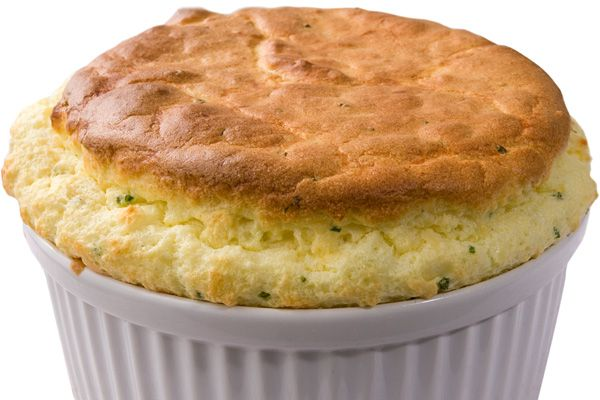 Smoked Cheddar Soufflé - Crusty on the outside, soft and airy in the ...
