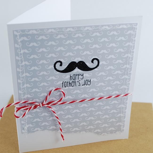 Mr Moustache Paper Designs & Digital Image Stamps