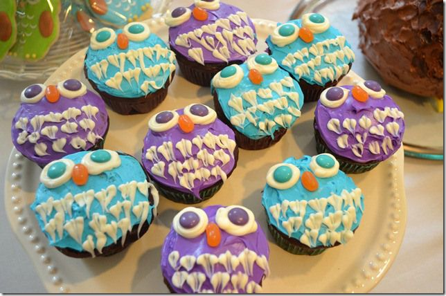 17 Best Ideas About Owl Birthday Cupcakes On Pinterest
