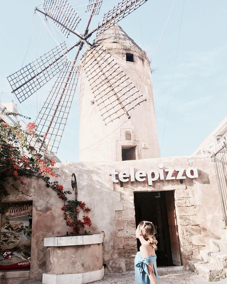 🇪🇸 #Spain #mallorca #europe #telepizza #landscape #palmamallorca #fastfood #traveltheworld #majorca #baleares