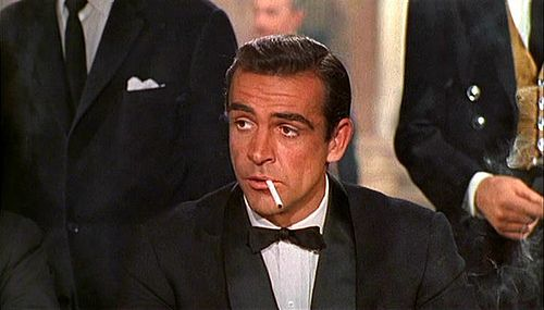 This is James Bond. This isn't one James Bond. This is THE James Bond. He's saved the world every day for about 40 years or so. He also made the martini acceptable for men to order.
