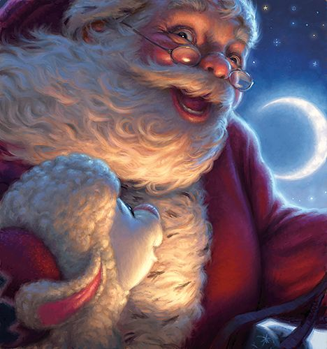 Santa by Tim Jessell