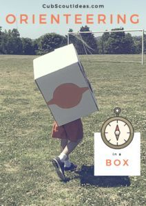 We did this at our Cub Scout day camp last summer, and it was a HUGE hit!  Go orienteering in a box to learn about using a compass.