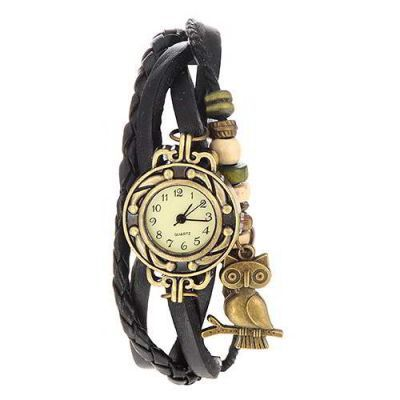 Owl Shape Decorated Multilayer  Black. Fashionable with passion REPIN if you like it.😍 Only 65 IDR