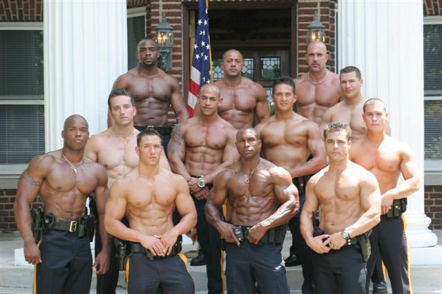 California COP Calendar , What can I say, it was Hot !!!..,lol.