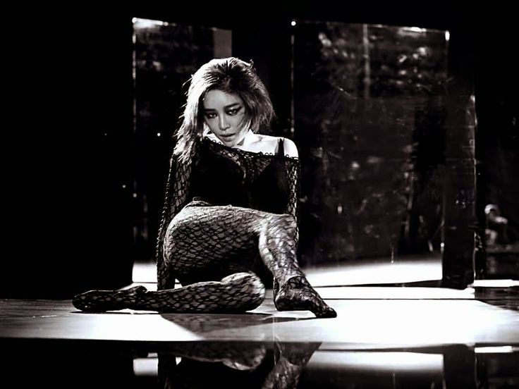 Gain (Son Ga-in) - from her brilliant video & song 'Paradise Lost'.  A former K Popper with the Brown Eyed Girls and a superstar back in her homeland (Korea).  She was in PSY's 'Gentleman' video.  Paradise Lost is definitely worth a watch.(and I don't mean an Omega or Rolex).