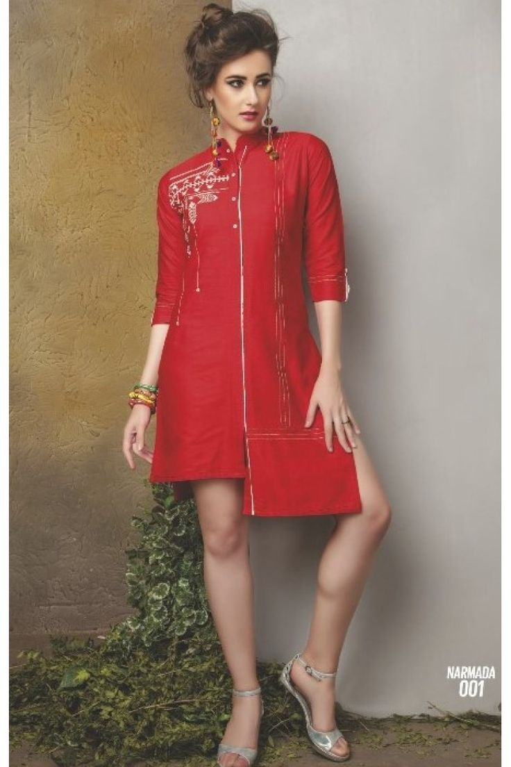 Narmada By Kaya Cotton Kurti Catalog #wholesale #fashion #lifestyle #clothing #kurti #womenwear