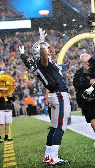 You've been Gronk'd! A common occurrence for opposing teams! #GoPats #PatriotsNation