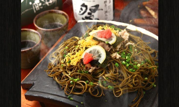 東京でも食べられる!福の花の瓦そば 日本中の瓦そば