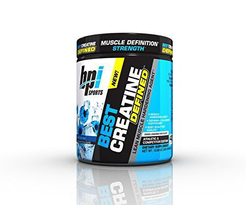 "BEST CREATINE DEFINED is the next evolution in creatine. Gone are the days where ""bulking"" and ""cutting"" are your only two options; now you can do both. BEST CREATINE DEFINED helps increase strength and muscle definition, while also improving your overall body composition.... more details at http://supplements.occupationalhealthandsafetyprofessionals.com/supplements-2/amino-acid/creatine/product-review-for-bpi-sports-best-creatine-defined-lean-muscle-harde"
