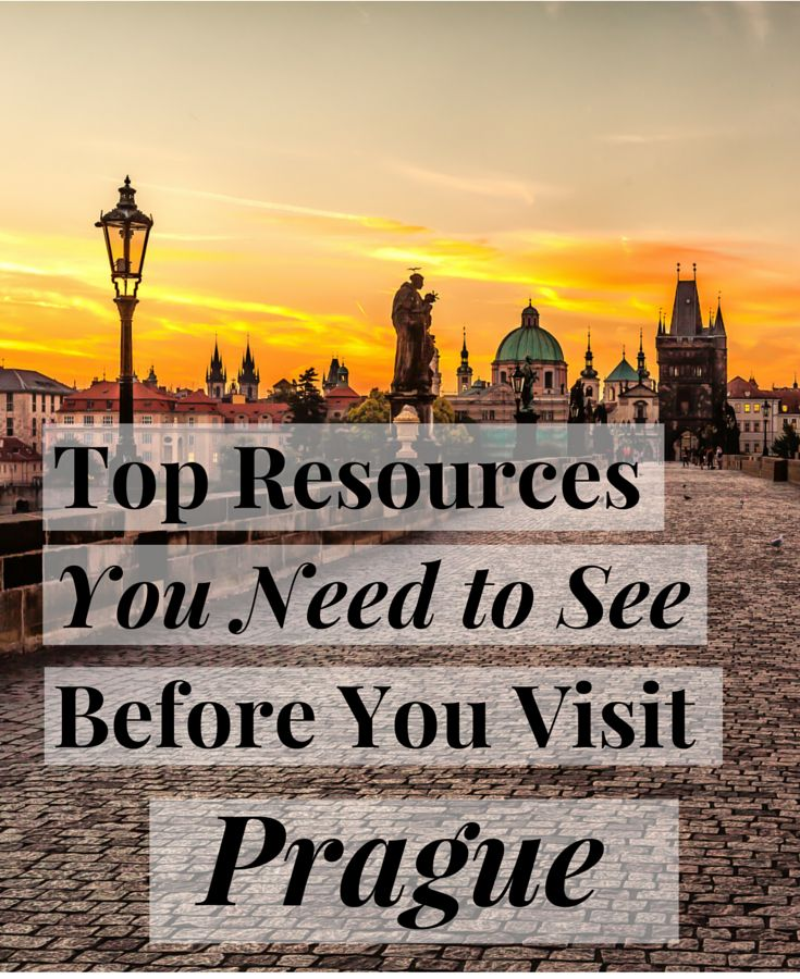 Top resources you NEED to see before you visit Prague! Insider tips you don't want to miss