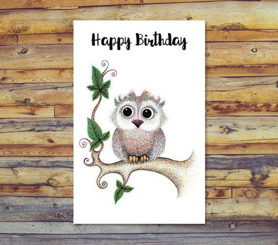25 Unique Printable Happy Birthday Cards Ideas On
