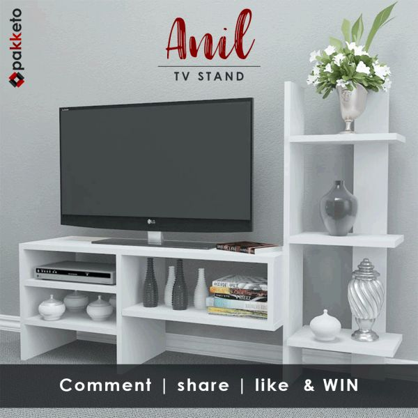 Η Πρωτομαγιά φέρνει #pakketo ένα μοναδικό δώρο... το λευκό TV stand Anil της φωτογραφίας! Ποιος τυχερός fan θα το κερδίσει;  Πάρε μέρος στον διαγωνισμό κάνοντας α) Like στο page Pakketo αν δεν έχεις κάνει, β) share το post του διαγωνισμού και γ) comment με hashtag το #ilovewhite [Ο διαγωνισμός ολοκληρώνεται 31/05/2017]