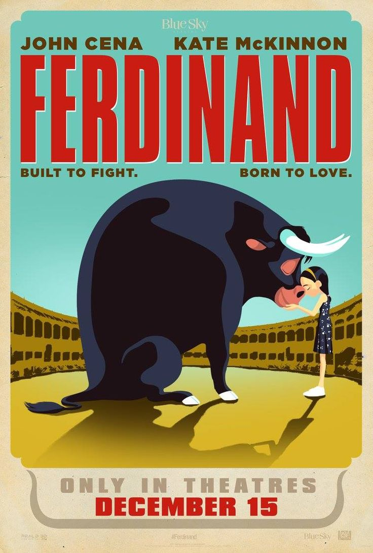 Built to fight. Born to love. See Ferdinand starring John Cena and Kate McKinnon in theaters December 15.