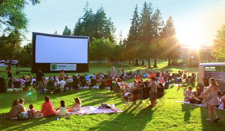 2016 Outdoor Movie Schedule in Vancouver