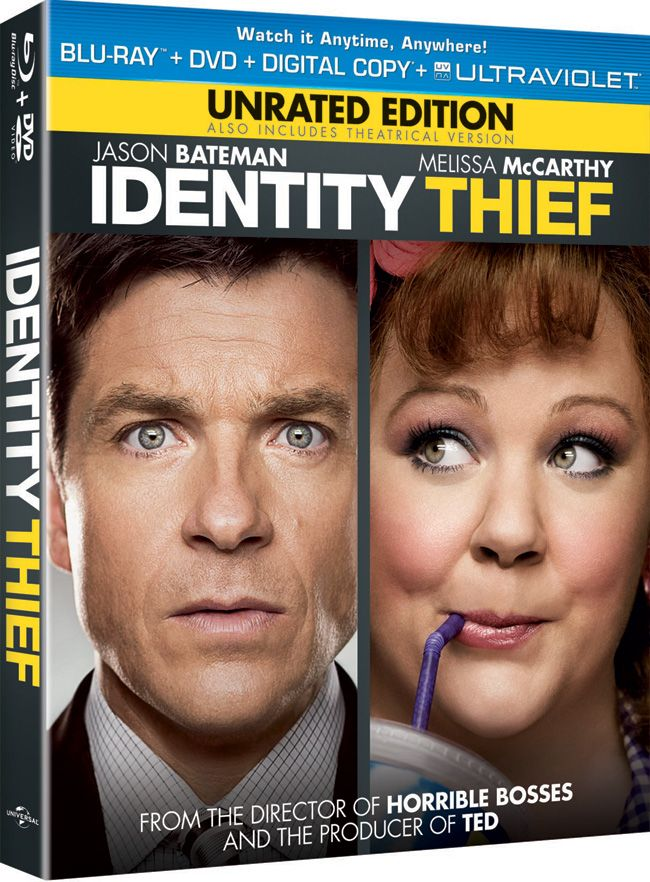 "Win a free Blu-ray and DVD combo pack to ""Identity Thief"" starring Jason Bateman and Melissa McCarthy courtesy of HollywoodChicago.com! Win here: http://ptab.it/Wdf6"