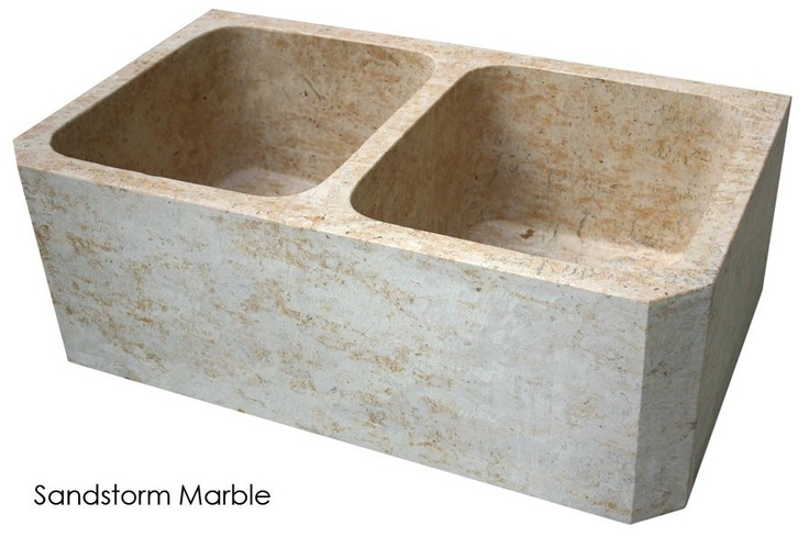 17 best images about double farm sinks on pinterest for Travertine eye drops